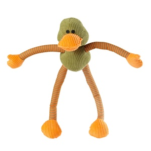 Ducky Long Legs Squeaky Dog Toy