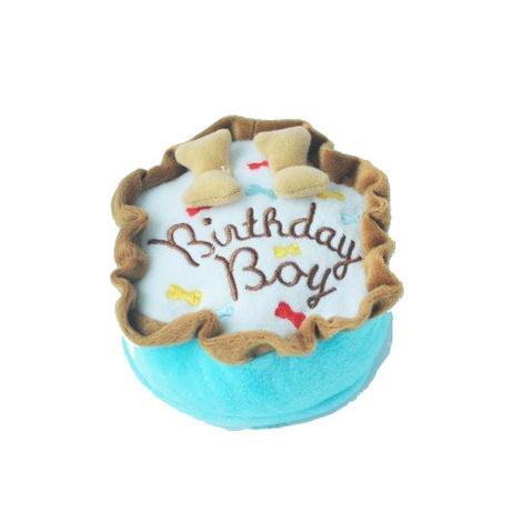 Large Birthday Boy Squeaky Dog Toy