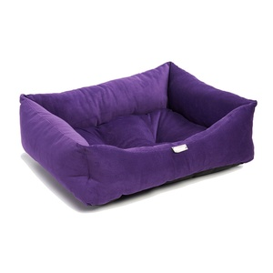 Purple Cord Dog Bed