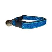 Zukie Style - Turquoise Blue Glitter Cat Collar