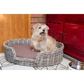 Rattan Kubu Dog Basket - Oval 4