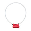 Lumitube Light Up Dog Collar - Red 2