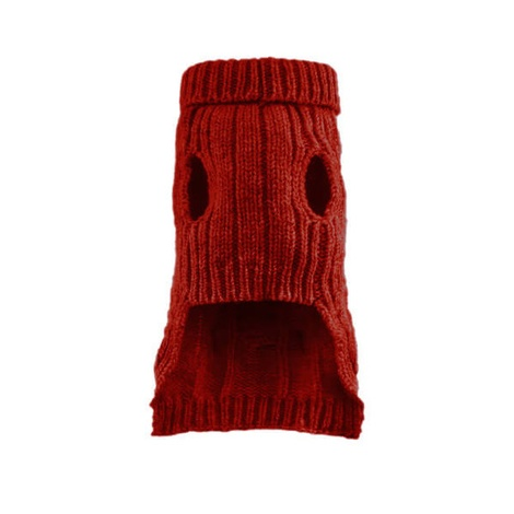 Aspen Dog Pullover - Red 2