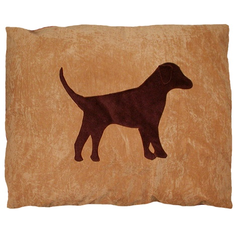 Labrador Dog Doza - Chocolate on Tan