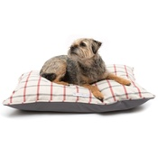 Mutts & Hounds - Nottingham Check Pillow Bed