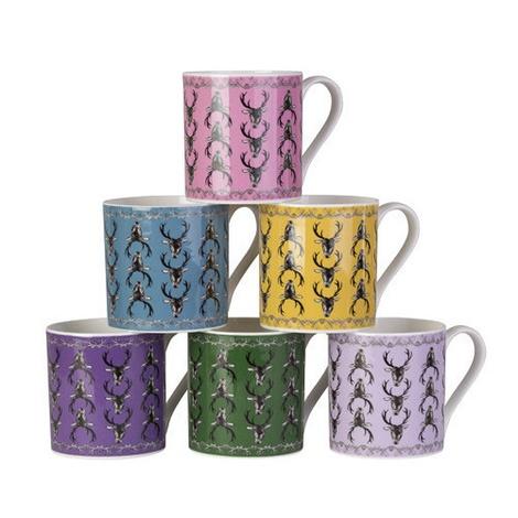 Stag Mug in Teal 2
