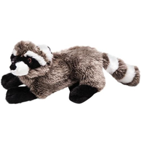 Fluff & Tuff Plush Dog Toy – Rocket the Racoon