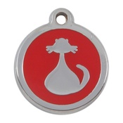 Tagiffany - My Sweetie Red Cat Pet ID Tag