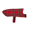 Personalised Red Tartan Sighthound Coat 2