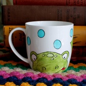 Laura Lee Designs - Oh I Do Love Frogs Mug