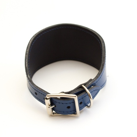 Geo Blue Hound Collar 3