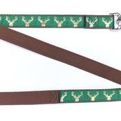 Pet Pooch Boutique - Country Stag Lush Green Lead