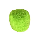 Cycle Dog - Fuzzies Green Ball Large Dog Toy