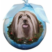 NFP - Lhasa Apso Christmas Bauble