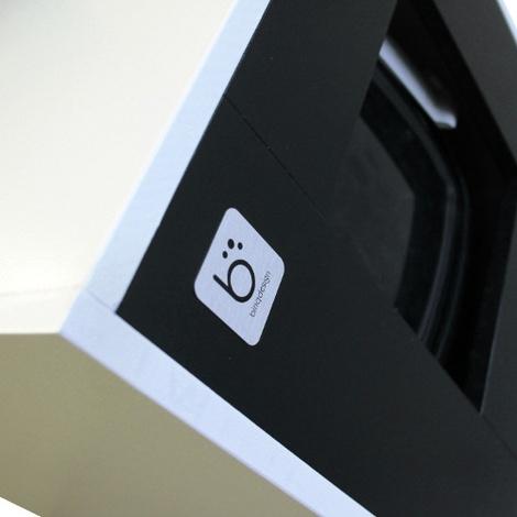 Cat Toilet - White & Black 3