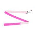 Pink Tweed Dog Lead