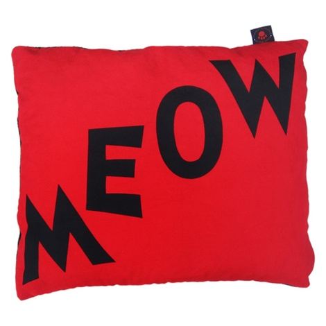 Cat Nappa Meow – Black/Red