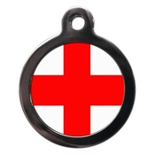 PS Pet Tags - St George Flag Pet ID Tag
