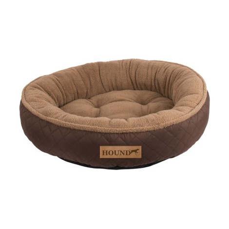 Hound Donut Dog Bed - Brown