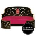 Russian Imperial Gold & Magenta Dog Sofa 2