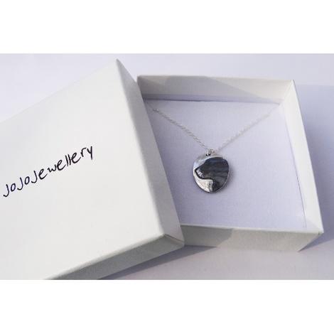 Silver Labrador Cameo Necklace 3