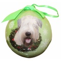 Soft-Coated Wheaten Terrier Christmas Bauble