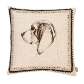 Amy Brocklehurst - Beagle Cushion