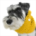 Chunky Funky Snood Scarf - Mustard
