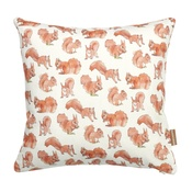 Stefanie Pisani - Squirrel Print Cushion