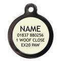 99% Wolf Pet ID Tag 2