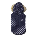 Polka Dot Dog Gilet – Navy