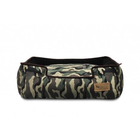 Camouflage Lounge Dog Bed  3