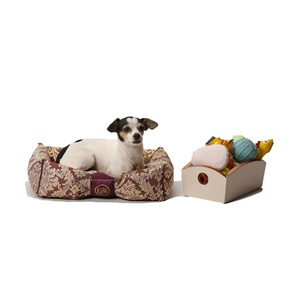 Chien Parisien Dog Bed – Amethyst & Gold