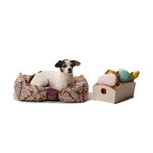 Chien Parisien Dog Bed – Amethyst & Gold