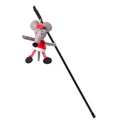 House of Paws - Mrs Claws Christmas Cat Wand