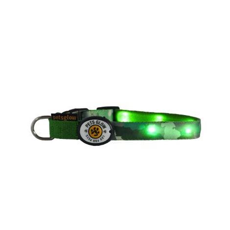 Camouflage LED Dog Collar
