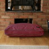 Hunt & Wilson - Luxury Corduroy Dog Bed – Wine