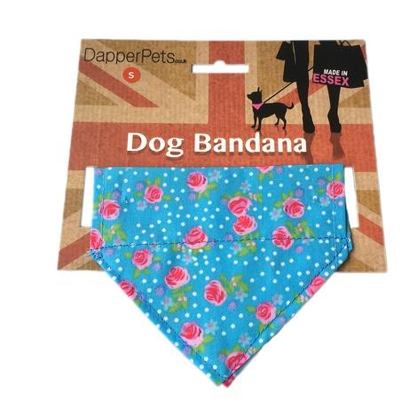 Dotty Rose Dog Bandana 2