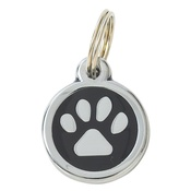 Tagiffany - My Sweetie Black Paw Pet ID Tag