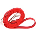 Red and Silver Luxury Leather Lead