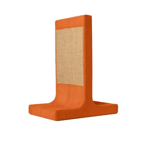 Scratching Post - Letter T - Orange