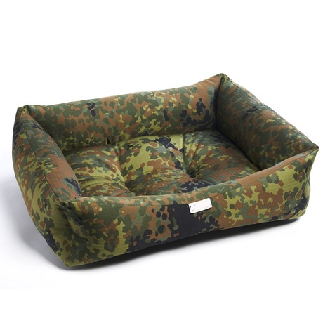 Forest Camouflage Dog Bed