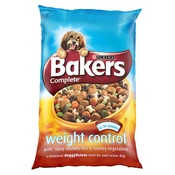 Bakers - Weight Control Dog Food x 4