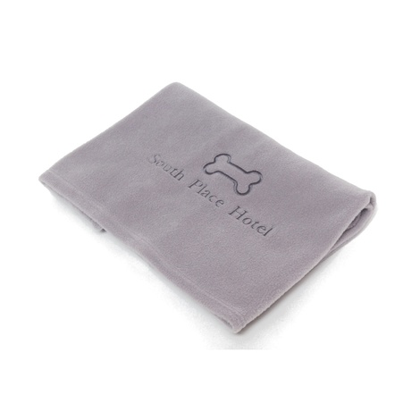 Personalised Pet Fleece Blanket – Baby Pink 2