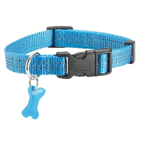 Safe Collection Collar - Blue
