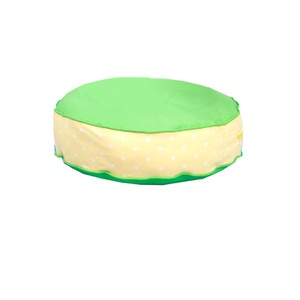 Bon Bon Soft Dog Bed - Green Spot