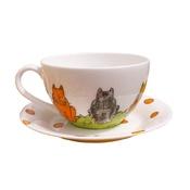 Laura Lee Designs - Cat Teacup