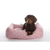 In Vogue Pets - Dotty Rose Lounge Dog Bed