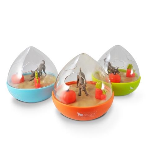 Wobble Ball Interactive Treat Toy - Orange 2