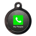 Call My People Dog ID Tag